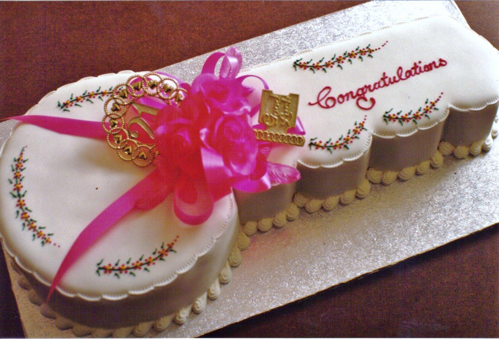 Key Cake St Birthday
